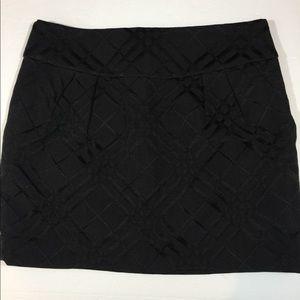 BCBGMxazria Black mini skirt Sz 4